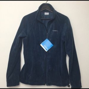 FIRM Colombia Fleece Zip Up Jacket Large NWT